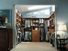 Image of: Walk In Closet Design Ideas