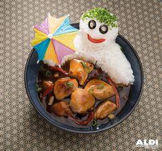 ¿Comida asiática para los peques? ¡Pues claro! #recetasALDI #oriental