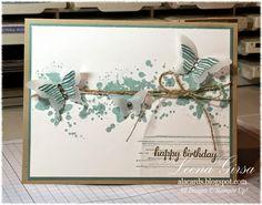 A La Cards: Birthday Butterflies CASE
