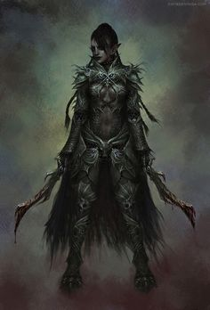 Half-elf; half-demon