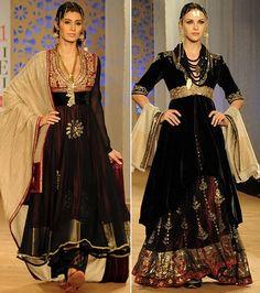 WeddingSutra Editors' Blog » Blog Archive » Anju Modi shows opulent yet serene collection