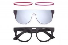 4fac587f89 Lunettes Kollektion & Capara Band Together for Deconstructed Eyewear