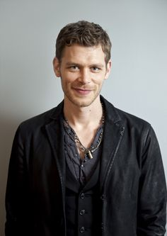 Joseph Morgan | The Vampire Diaries. Is it just me or are his little dimples just the cutest!!:)