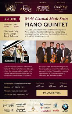 Dubai World, One And Only, Classical Music, Web Design, Piano, Design Web, Website Designs, Pianos, Site Design