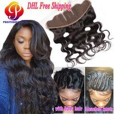 Human Hair Weaves Sleek Malaysia Straight 613 Honey Blonde Lace Frontal Closure 13x4 Ear To Ear Frontal 100% Remy Human Hair Lace Frontal 8-20 Elegant And Graceful Closures
