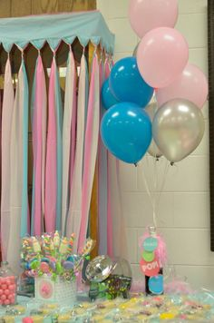 Ready to Pop Baby Shower - Centerpiece - Candy Buffet