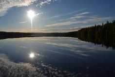 Friday evening in home village,Laitila, Tarja Kulma-aho