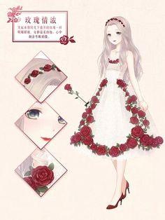 She's like an anime Snow White~! Nya!