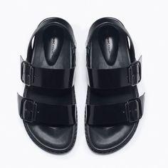 Zara Buckled Sandals