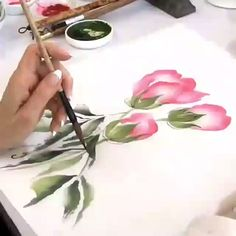 Best Pics drawing flowers aquarell Thoughts Flowers tend to be NOT uncomplicated to draw! Well-executed plant pen-drawings tend to be a success about many myspace Watercolor Painting Techniques, Watercolor Video, Watercolour Tutorials, Painting Lessons, Watercolor Flowers, Drawing Flowers, Step By Step Watercolor, One Stroke Painting, Acrylic Flowers