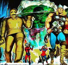 Avengers magazine cover.