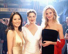 Kibbe: Lucy Liu (Gamine), Drew Barrymore (Romantic), & Cameron Diaz (Flamboyant Natural)