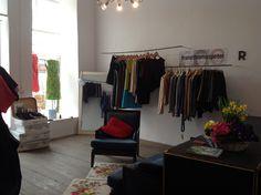 showroom for fair fashion, yppenplatz 1160 WIEN, open every saturday from - Wardrobe Rack, Showroom, Space, Furniture, Home Decor, Fashion, Floor Space, Homemade Home Decor, Moda