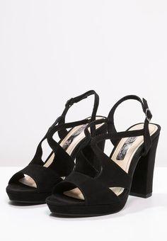 bestil Tamaris Højhælede sandaletter / Højhælede sandaler - black til kr 499,00 (26-05-16). Køb hos Zalando og få gratis levering.