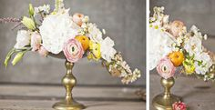 bright white, peach, soft pink, hint of yellow