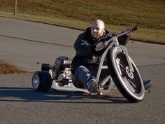 Big Wheel Drift Trike   DudeIWantThat.com