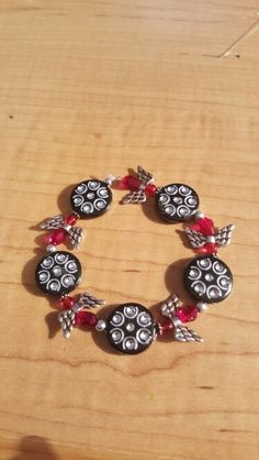 Stretchy angel bracelet