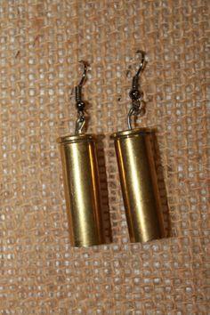 Bullet casing earings