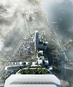 Winning Design Proposes Concept for Futuristic Urban Community - My Modern Met