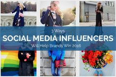 Social Media Influencers Help Brands Marketing 2016
