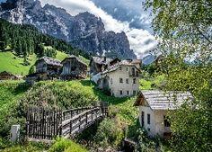 Góry, Domy, Most, Włochy