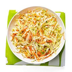 10 ways to make Coleslaw - A few surprising ingredient swaps turn this classic Green Cabbage Coleslaw into a brand new dish! Try one of these slaw variations at your next cook out.