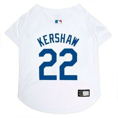 1d664cb40 Los Angeles Dodgers Clayton Kershaw Pet Jersey MLB Dog clothes Size LG  CLEARANCE  PetsFirstCo Mlb · Mlb Team ...