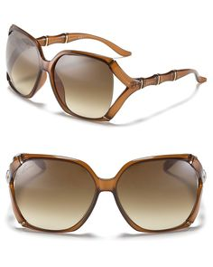 6536877db6 Gucci Oversized Rounded Square Sunglasses