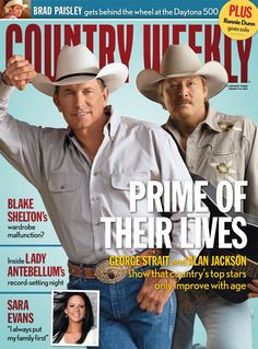 March 14, 2011 - Prime of Their Lives: George Strait and Alan Jackson - Country Weekly