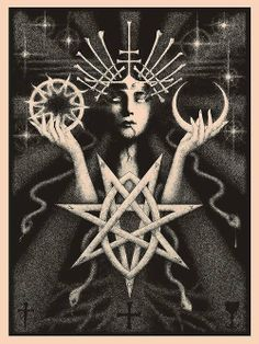 psychedelic occult art