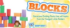 Educational building blocks that will inspire even the youngest little builders