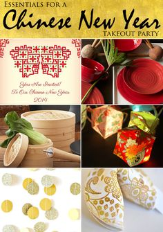 Everything You Need to Host a Chinese New Year Takeout Party!