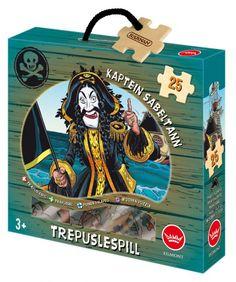 Kaptein Sabeltann trepuslespill - 25 biter 522080 Wooden Puzzles, Movies And Tv Shows, Blog, Watch Movies Online Streaming, Animation Movies, Blogging