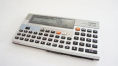Vintage Casio PB-410 Personal Pocket Computer/ Data Bank with Ram Card #Casio