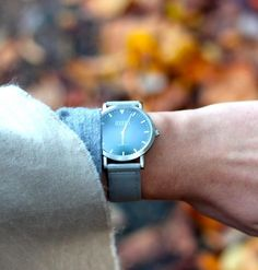 Whitstable Watch with Grey Classic Strap