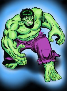 Classic Sal Buscema Hulk by *soulmaninc