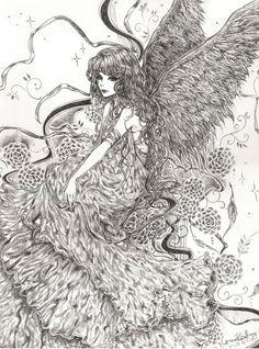 Commission: Angel by bluesaga331.deviantart.com on @deviantART