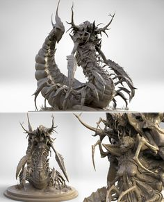 The curse of Serqet by James Suret | Creatures | 3D | CGSociety