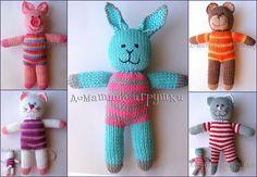 Handmade zateyki all toys
