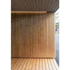 Gallery of Timber Cladding - Luna Triple Shadow - 11 Timber Battens, Timber Fencing, Timber Cladding, Exterior Wall Cladding, House Cladding, Wood Slat Wall, Wood Slats, Outdoor Walls, Outdoor Living