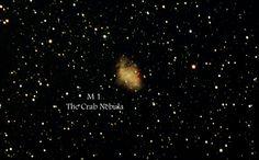 M 1 The Crab Nebula