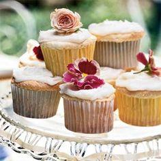 Lemon Angel Food Cupcakes | MyRecipes.com