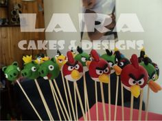 Palitos golosineros de Angry Birds