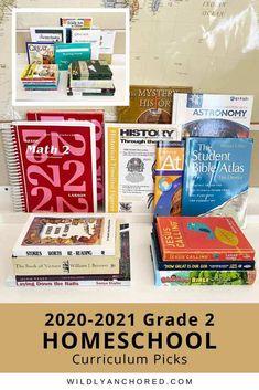 2020-2021 Grade 2 Homeschool Curriculum Picks Bible Atlas, Adventure Bible, Devotions For Kids, Saxon Math, Heart Touching Story, Grade 2, Second Grade, Short Stories For Kids, Bible Study For Kids