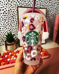Personalized Starbucks Cup, Custom Starbucks Cup, Personalized Cups, Starbucks Cup Design, Coffee Cup Art, Disney Cups, Pinterest Crafts, Custom Cups, Cricut Creations