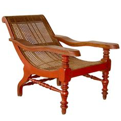 British Colonial Plantation Chair