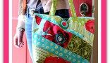 Scrappy Bag - Free PDF Sewing Pattern + How to Double Your Thread