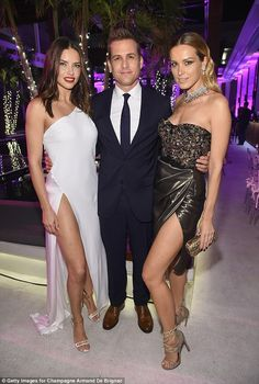Adriana Lima and Petra Nemcova smolder at Miami Beach bash | Daily Mail Online