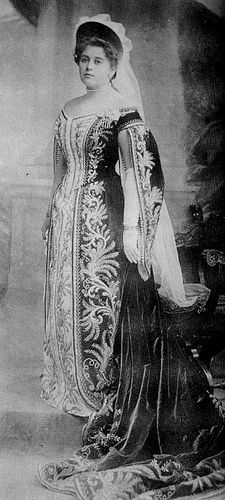 Anna Vyrubova (1884-1964).  Anna was Empress Alexandra's best friend and lived in a separate small home adjacent to the Alexander Palace at Tsarskoye Selo.  She often acted as coordinator between the Empress and Rasputin whom she admired.  She would survive the Revolution and live to old age in the West.