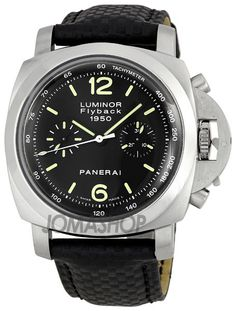 Panerai Luminor Flyback Chrono 1950 Mens Watch PAM00212 $10,875